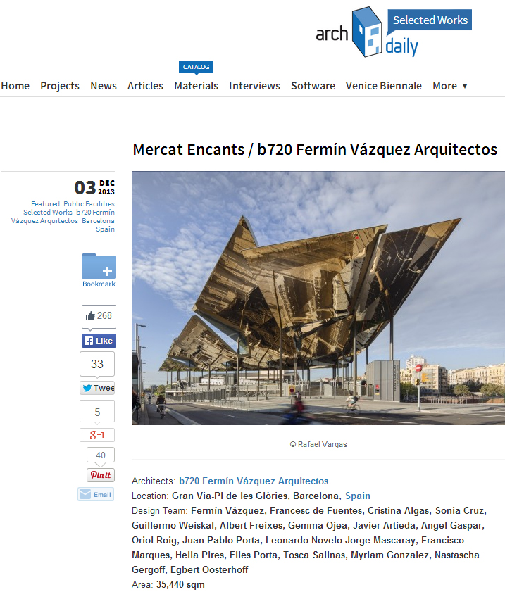 Building of the Year 2014 – Commercial Architecture