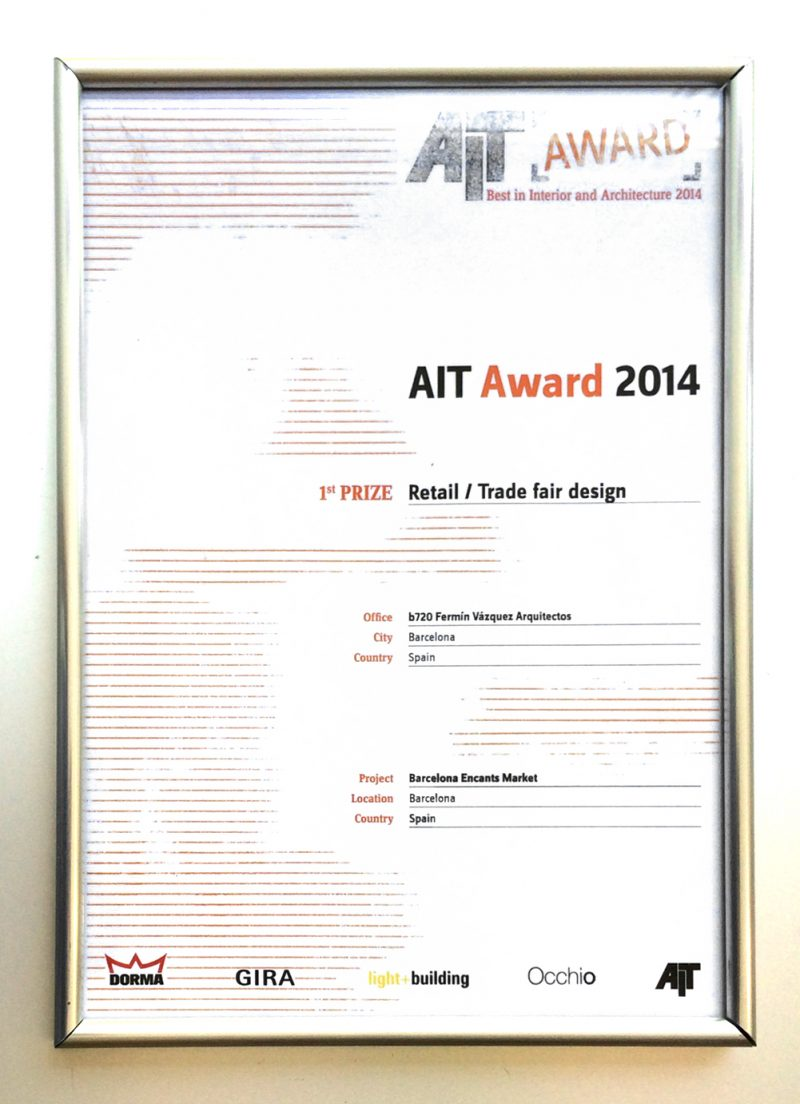 AIT Awards 2014 – Primer Premio: Retail / Trade Fair Design