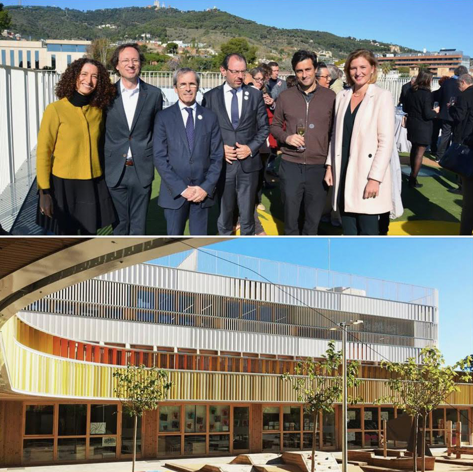 Discover the pre-school school of the French lyceum in Barcelona, inaugurated today on the occasion of the #semainelfm