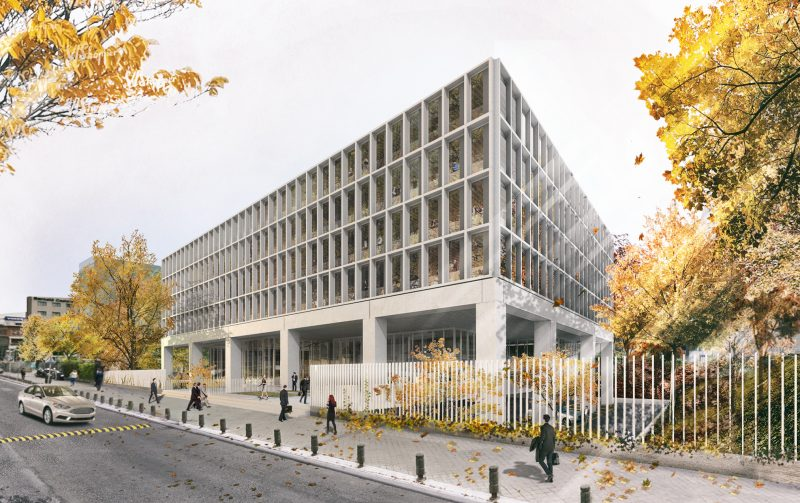 New Office Building on Manoteras Avenue in Madrid